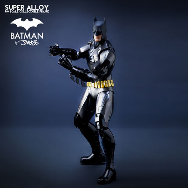 Super Alloy Batman By Jim Lee - Limited ED Gloss-1/6 Scale Collectible Figure