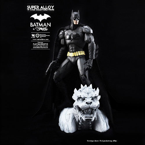 Super Alloy Batman By Jim Lee Matte Finish - 1/6 Scale Collectible Figure