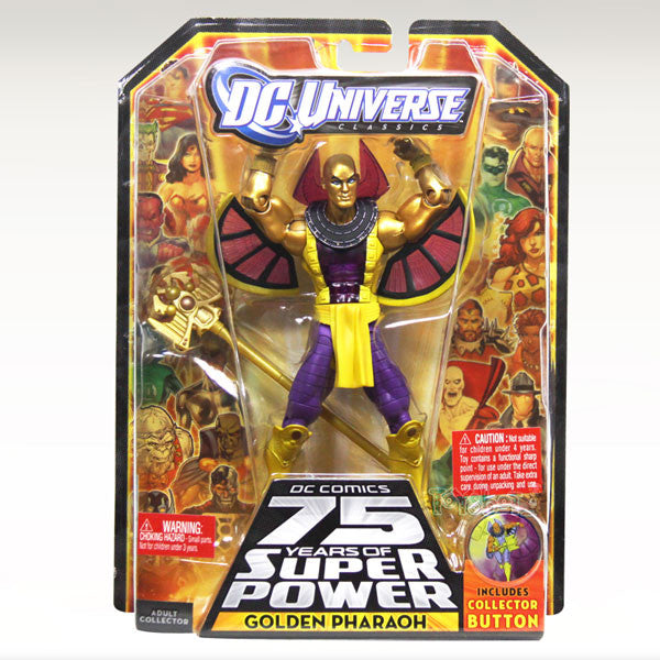 DC Universe Classics 75th Anniversary - Golden Pharaoh