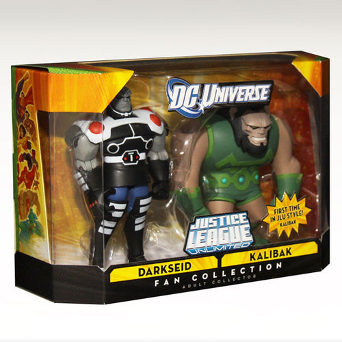DC Universe Justice League Unlimited - Darkseid & Kalibak 2-Pack