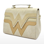 Dc Comics Wonder Woman Quilted Die Cut Flap Crossbody Bag