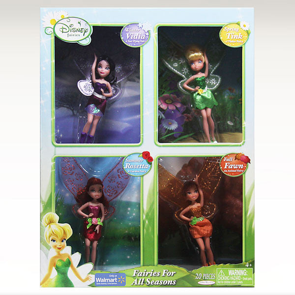 Disney Fairies for All Seasons 4-Pack