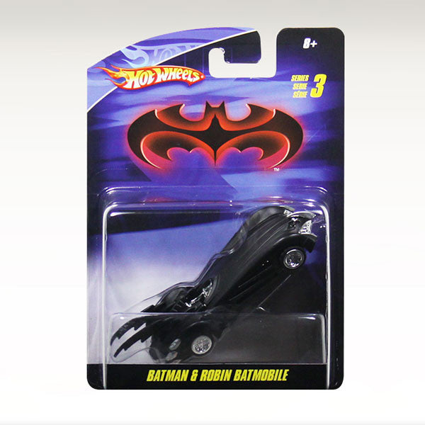 Hot Wheels Batman /& Robin Batmobile 1:50 Scale Die Cast Vehicle