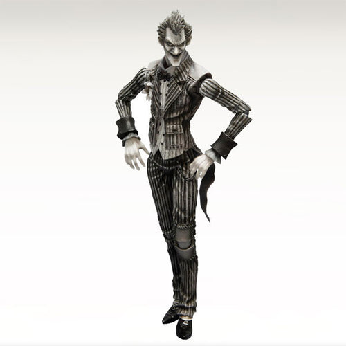 Exclusive Batman: Arkham Asylum Play Arts-Kai-The Joker [Black & White Version]