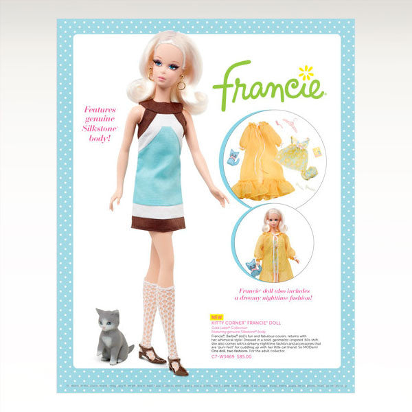 Kitty Corner Francie Doll