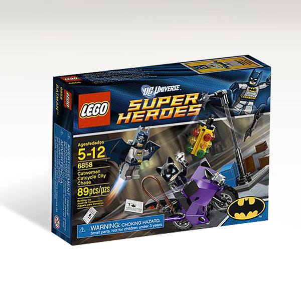 LEGO Super Heroes Catwoman Catcycle City Chase (6858)