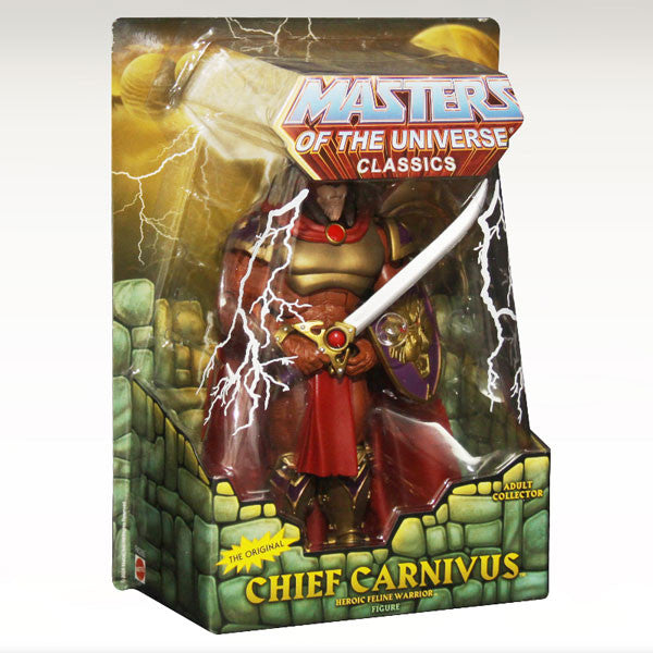 Masters of the Universe Classics Chief Carnivus
