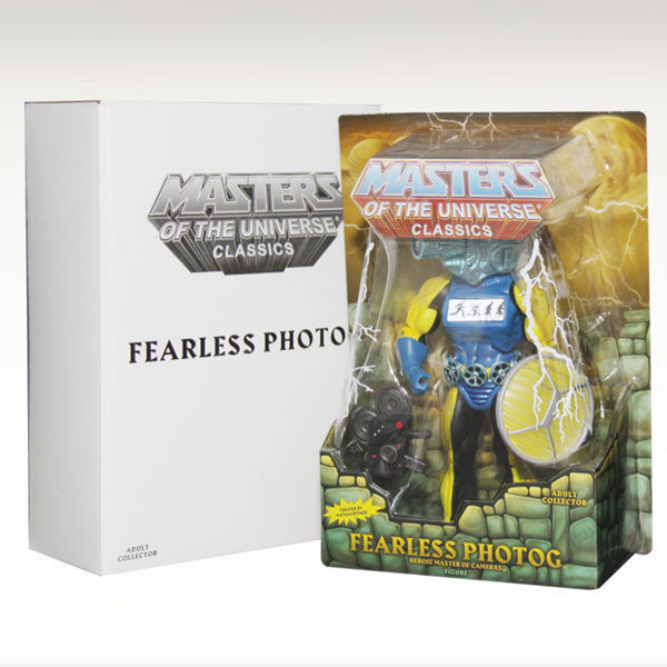 Masters of the Universe Classics Fearless Photog