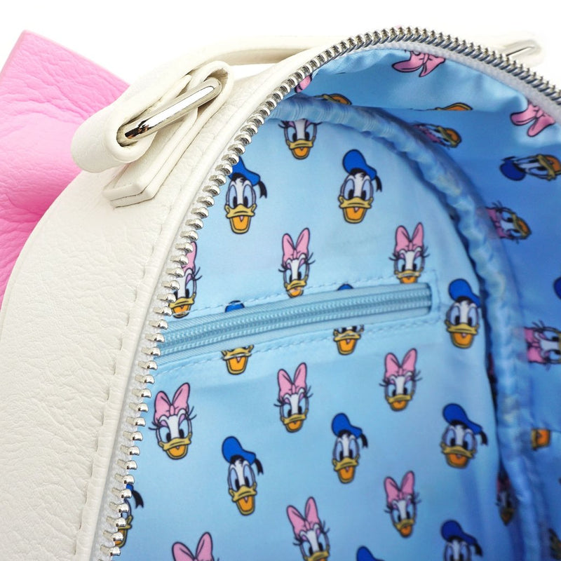 Disney Donald And Daisy Double Sided Mini Backpack