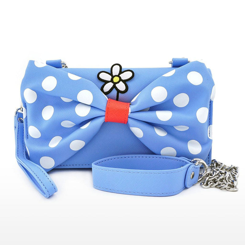 Disney Positively Minnie Polka Dot Crossbody Wristlet