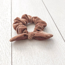 Load image into Gallery viewer, Dusty Rose Bow Scrunchie