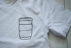 Survive By Coffee Tee