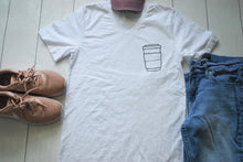 Load image into Gallery viewer, Survive By Coffee Tee
