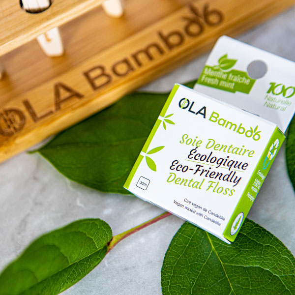 Eco-Friendly Dental Floss by OLA Bamboo