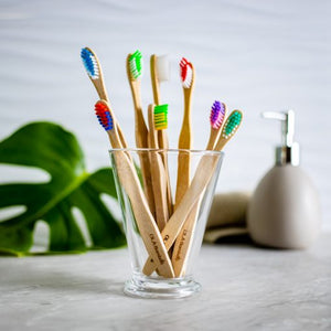 Family Pack - Bamboo Toothbrushes by OLA Bamboo
