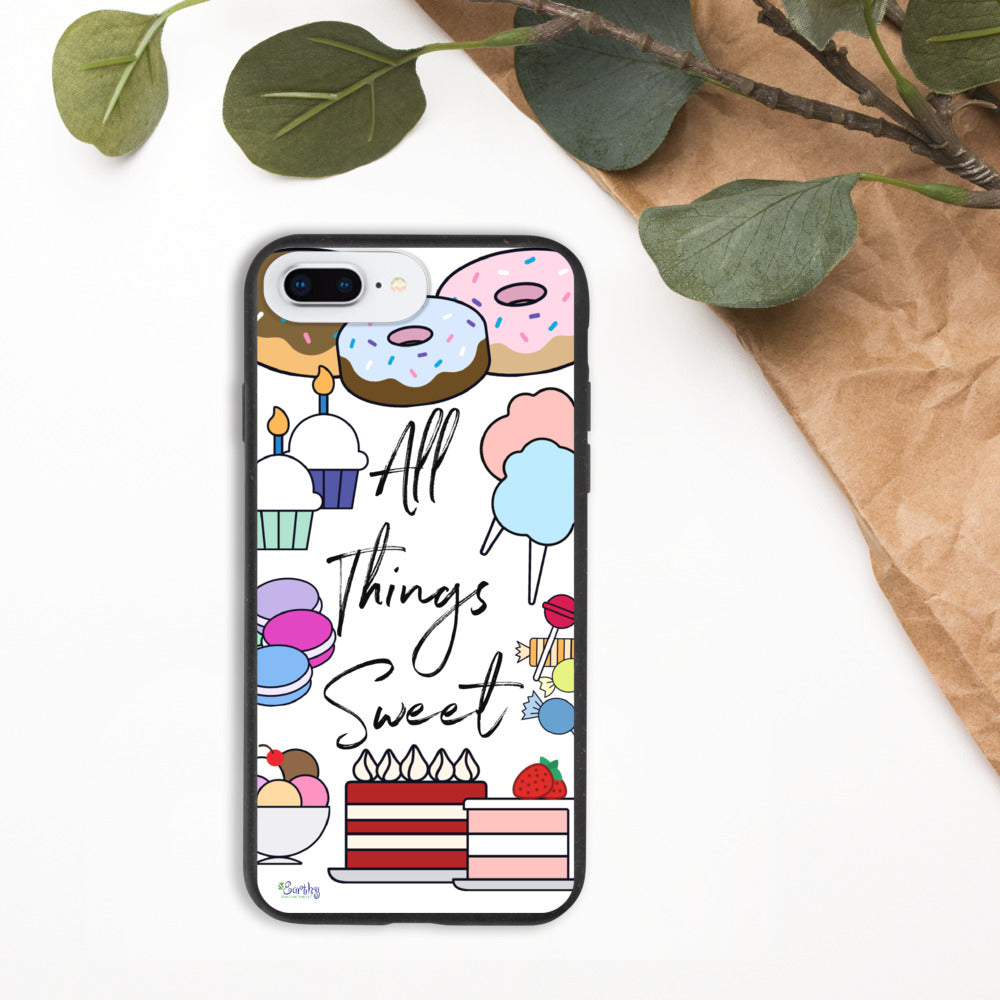 iPhone Biodegradable phone case - All Things Sweet