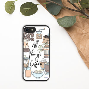 iPhone Biodegradable phone case - All Things Coffee