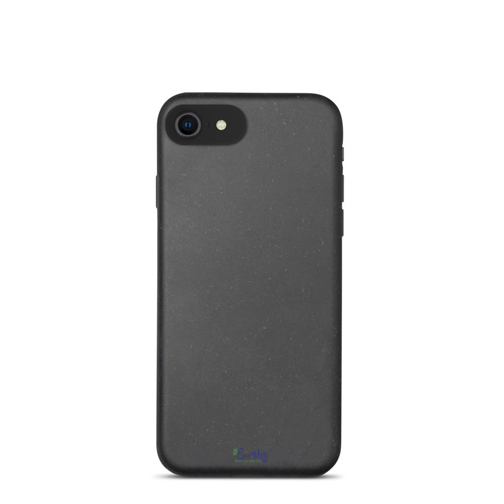 iPhone Biodegradable phone case - Natural Black