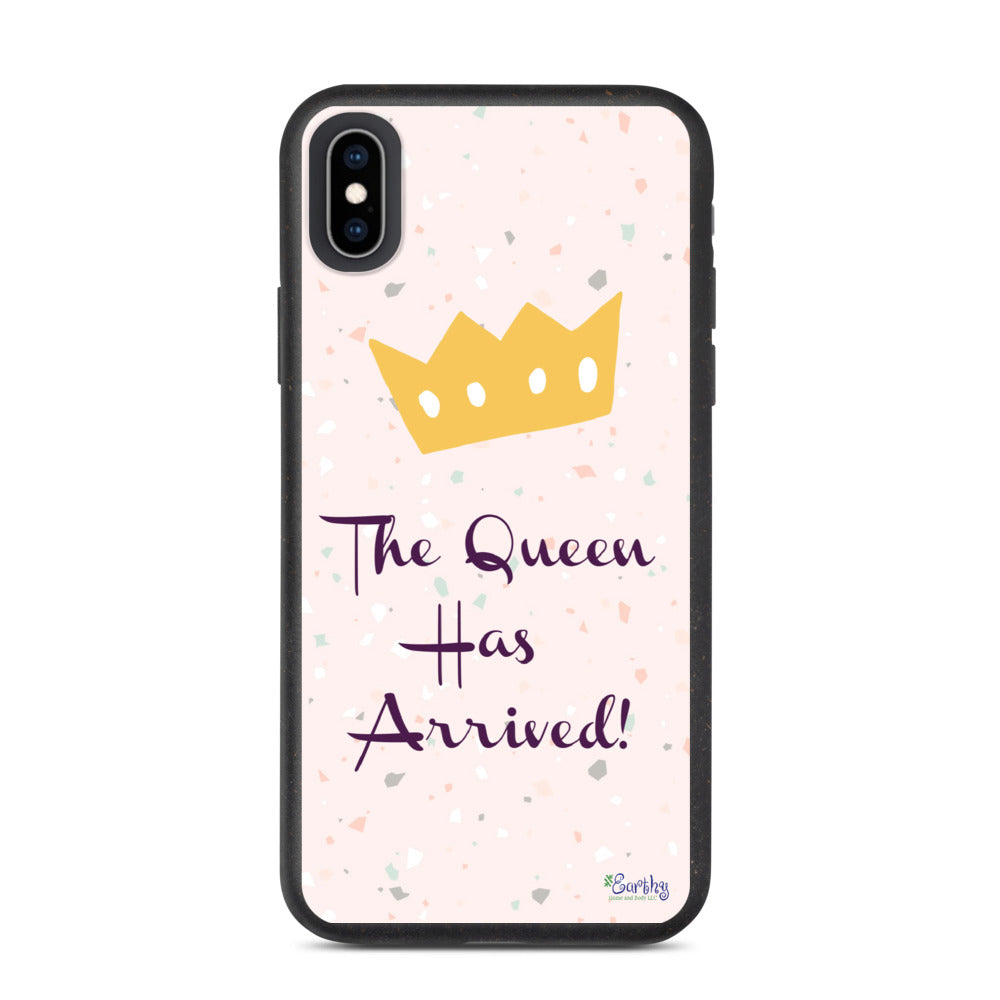 iPhone Biodegradable phone case - The Queen has Arrived