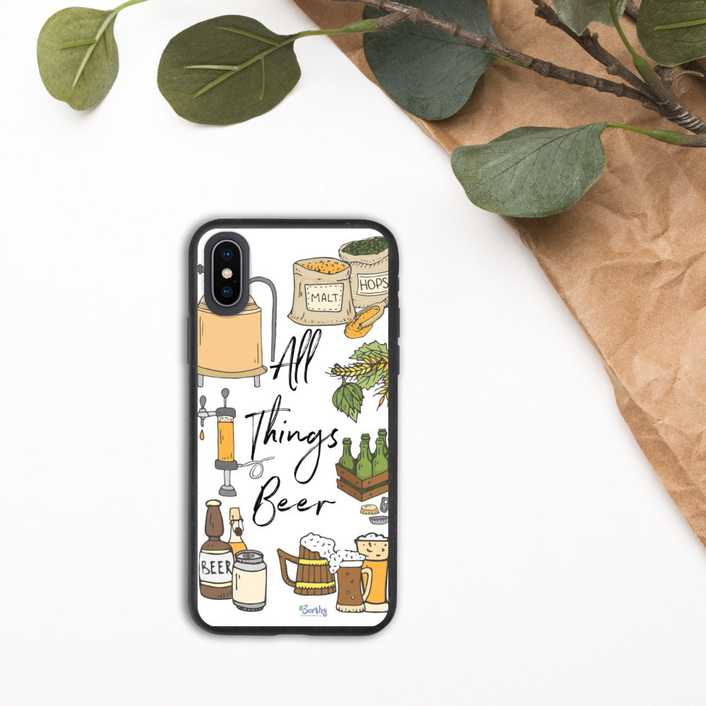 iPhone Biodegradable phone case - All Things Beer