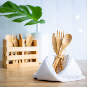 Reusable Bamboo Utensils by OLA Bamboo