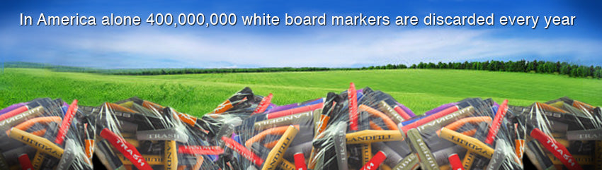 White Board Markers & Refillable Markers