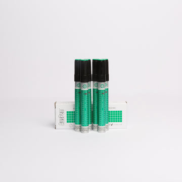 6 Green Refillable Whiteboard Markers