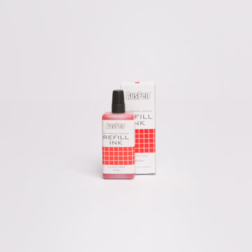 Red Refill Ink Bottle