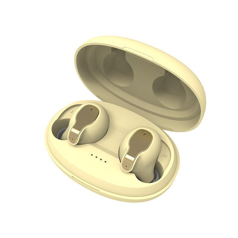 XY5 Bluetooth Wireless Earphones  Yellow