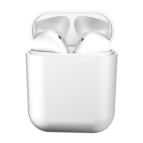 Baseustec Bluetooth Wireless Earphone White