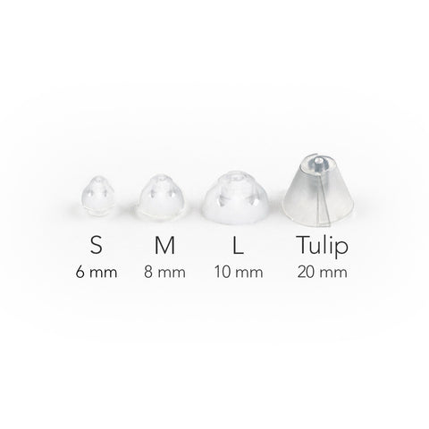 Ablue Open Ear Domes Size Chart