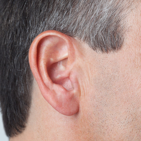 Uno Invisible Hearing Aid in ear
