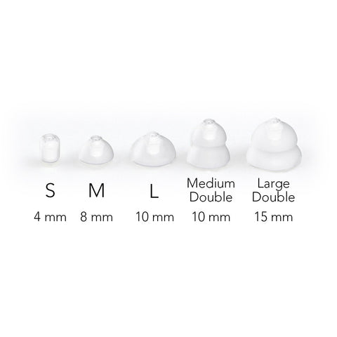 Canto Closed Ear Domes Size Chart