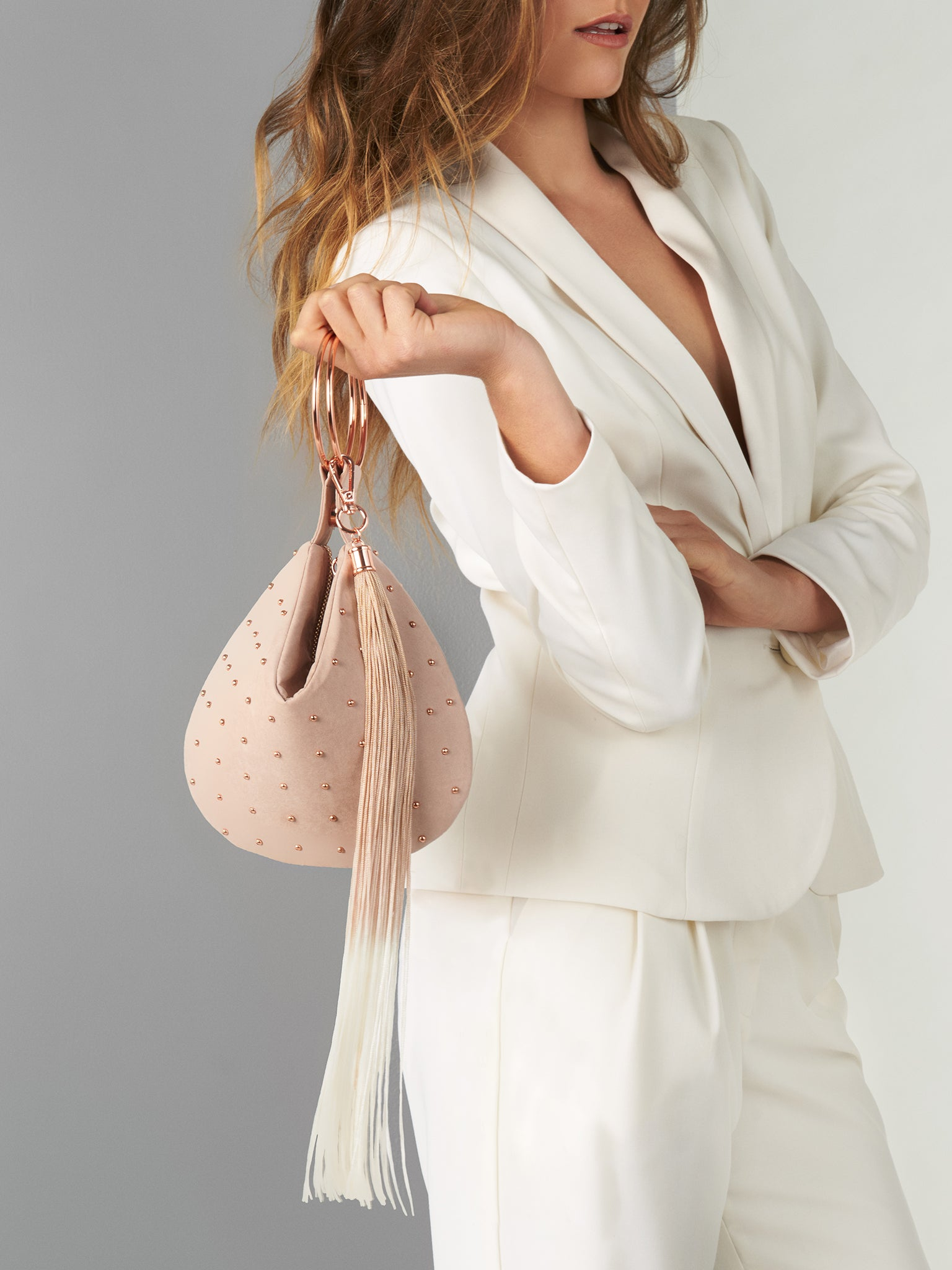 Phoebe Bag with Detachable Tassel