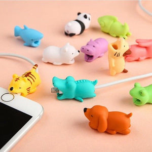 Cute Animals Data Line Protector