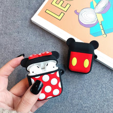 Load image into Gallery viewer, Bluetooth Silicone Earphone Case For Apple Air Pods