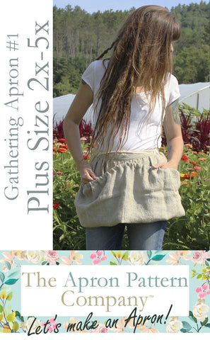 The Plus Size Version of Gathering Apron #1