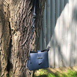 Italian Leather Bag with Zipper closure