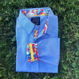 Two B's Minis Cotton Shirts for Boys