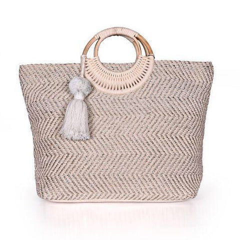 Burch Lurex Durie Tote