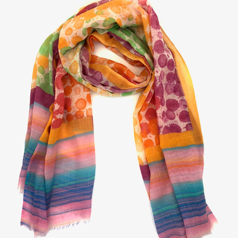 Two B's Accessories Scarf Colorful by Asian Eye