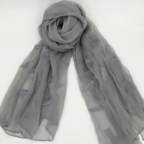 Two B's Accessories Silk Scarf