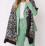 Cashmere Blend Animal Print Scarf