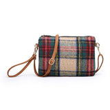 Flannel Clutch Bag