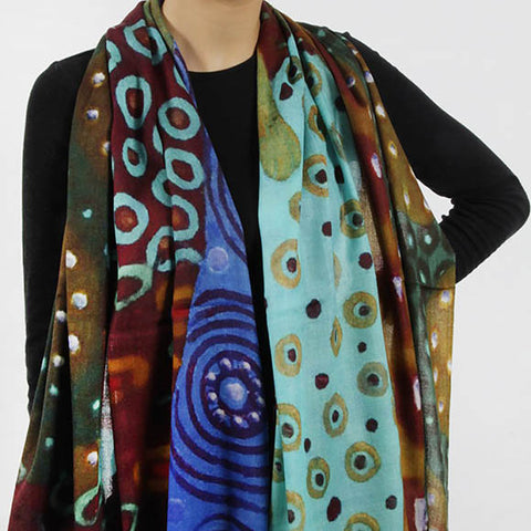 S- Light Wool Scarf