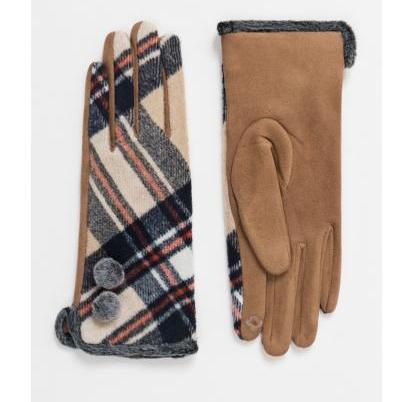 Wool Gloves with Patterns