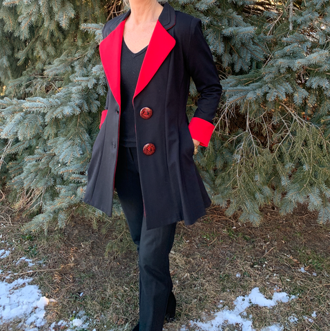 Black and Red Jacket