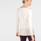 Crystal Pink Sweater/Blouse by Leo & Hugo