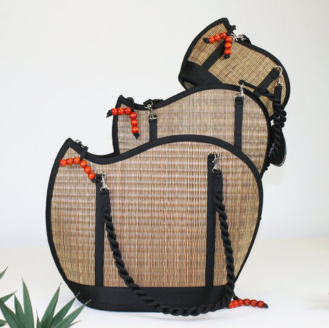 Handmade in Cambodia Weaved Bag