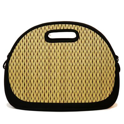 Take more than one purse with you with this unique Traveler designs Oval shape bag. The interior base is removable and the purse folds flat for easy travel or storage. It includes an array of interior pockets, a strong built in handle, and a very spacious interior that is easily accessible.